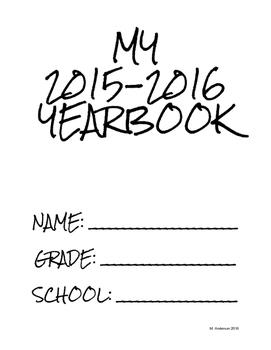 Printable Individual Yearbook