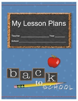Printable Insert Covers for 3-ring Binders (for Lesson Plans)