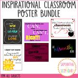 Printable Inspirational Classroom Poster Set