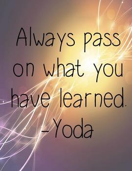 Printable Inspirational Quotes - Yoda