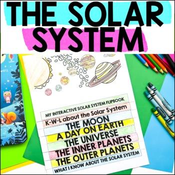 No Prep Printable Interactive Flip Book, The Solar System