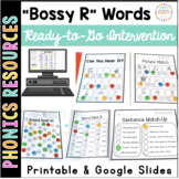 Bossy R ar ir ur er or: Printable Intervention