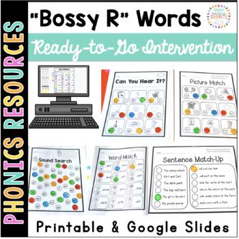 Bossy R ar ir ur er or: Printable Intervention