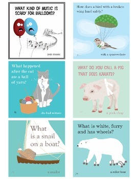 Printable Jokes for Students, set 4