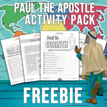 FREEBIE Paul the Apostle Activity Pack