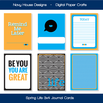 Printable Journal Prompt Cards