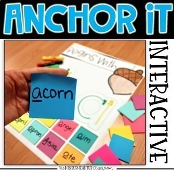 Printable Kindergarten Anchor Charts for the Year