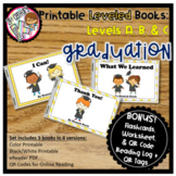 Printable Kindergarten Leveled Books - Graduation Levels A, B, C