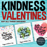 Printable Kindness Valentines Day Card - Printable Valenti