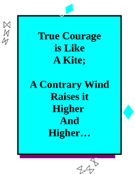 Printable: Kite Poster for the classroom