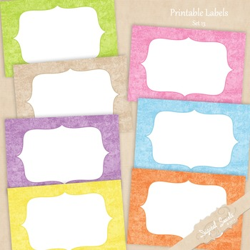 Printable Labels Set 13