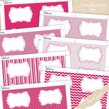 Printable Labels Set 15