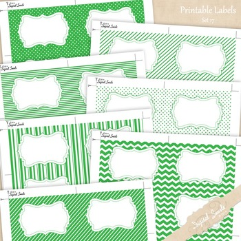 Printable Labels Set 17