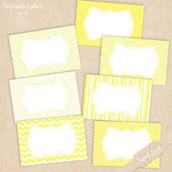 Printable Labels Set 18