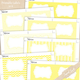 Printable Labels Set 18