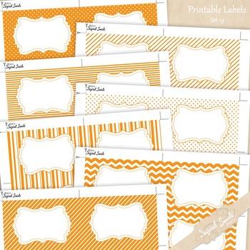 Printable Labels Set 19