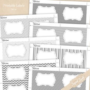 Printable Labels Set 20