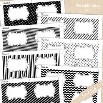 Printable Labels Set 21