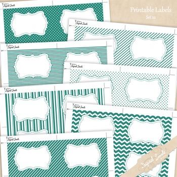 Printable Labels Set 22