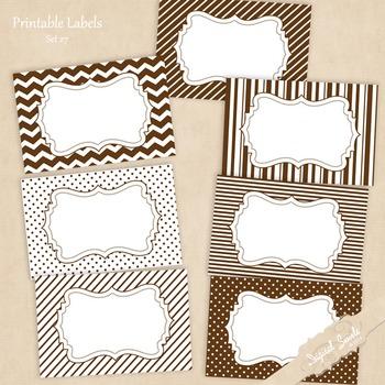 Printable Labels Set 27
