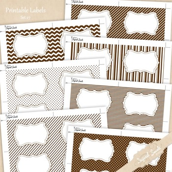 Printable Labels Set 27