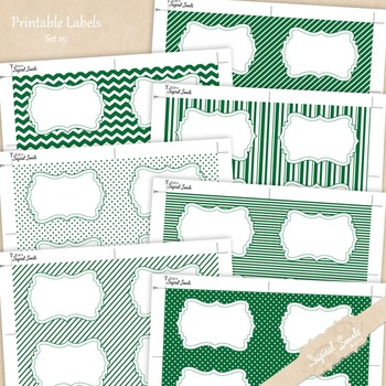 Printable Labels Set 29