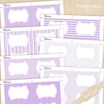 Printable Labels Set 30