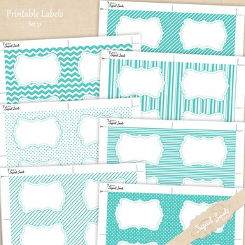 Printable Labels Set 31