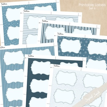 Printable Labels Set 6