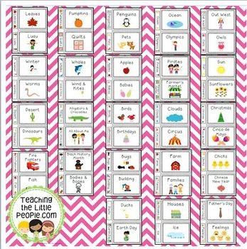 printable labels for making themed teacher binders by julie locke