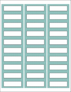 Printable Labels for Organizing Supplies