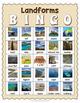Landforms BINGO - Landforms Game