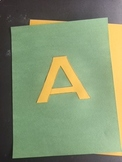 Printable Large Alphabet Letters for Banners, Bulletin Boards or Posters