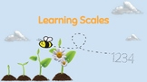 Printable Learning Scale- EDITABLE! Comes w/ standard trac
