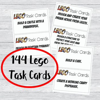 graphic about Printable Task Cards identify Printable Lego Dilemma Activity Playing cards