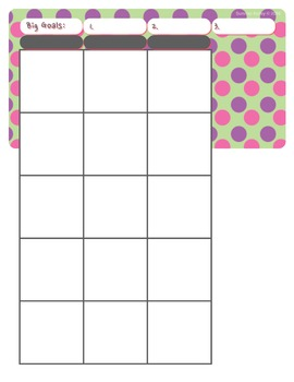 Printable Lesson Plan Book (2016-2017)