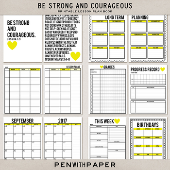 graphic about Teacher Plan Book Printable titled Printable Lesson Application Ebook: Center Variation