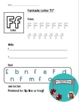 Fantastic Letter F