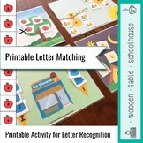 Printable Letter Matching Activity