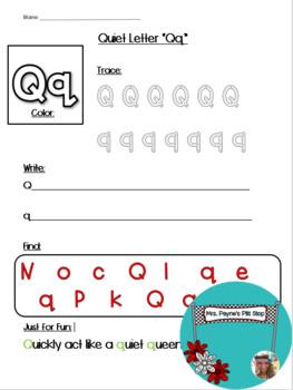 Quiet Letter Q