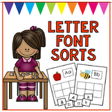 Letter Recognition Sorts