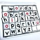 Printable Letter Tiles and Word Building Mat