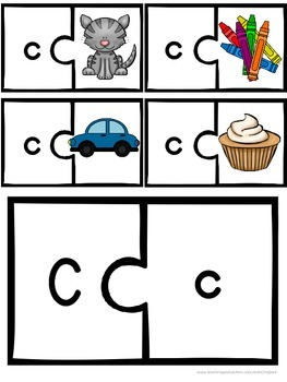 Printable Letter of the Week C FREE