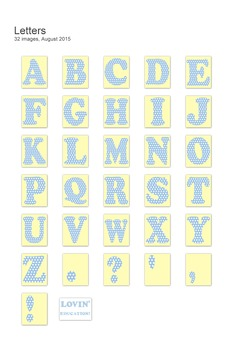 Printable Letters - Cut Out Letters - Bulletin Board Letters