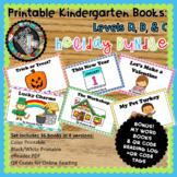 Printable Leveled Books Kindergarten - Holidays Levels A,