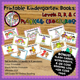 Printable Leveled Books for Kindergarten - Magical Creatur