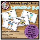 Printable Leveled Books for Kindergarten - Wintertime Fun Level C