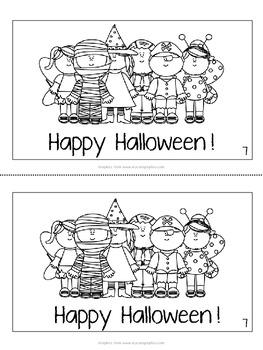 Printable Leveled Reader for FALL! - Halloween - Level B