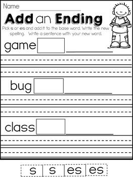 Printable Literacy Practice
