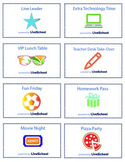 Printable LiveSchool Reward Cards for Students